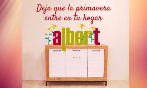 La primavera de Albert muebles